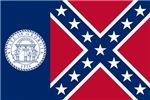 Flag of Georgia (1956–2001)