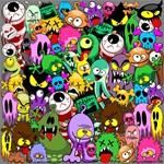 Monsters Creepy Doodles Saga