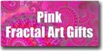 Pink Fractal Art Gifts