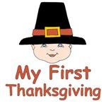 Thanksgiving Pilgrim Baby