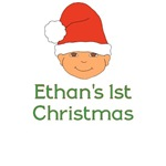 Personalized Christmas Santa Hat Baby