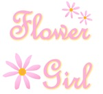 Flower girl t-shirts & gifts