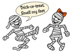 Trick-or-Treat Smell my Feet