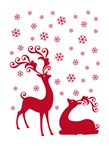 Cute Christmas deers