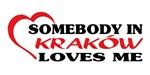 Somebody in Kraków loves me