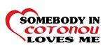 Somebody in Cotonou loves me