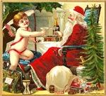 Santa Claus New Year's Items
