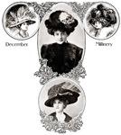 1908 December Millinery