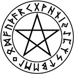 Pentacle Rune Shield
