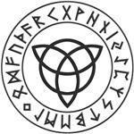 Reversed Triquetra Rune Shield