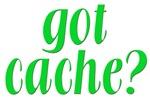 Got Cache? - Green