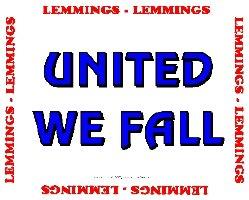 Lemmings, United We Fall Clothing