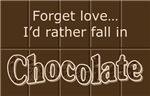 Chocolate lover t-shirts & gifts