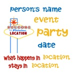 personalizable parties designs