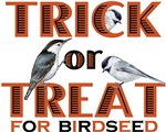 Trick or Treat for Birdseed