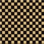 Warm Black and Tan Checkerboard