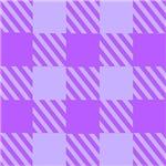 Purple Block Stripes