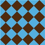 Brown and Blue Blocks