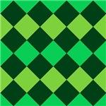 Green Checkerboards