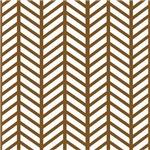 Mud Brown Weave Print