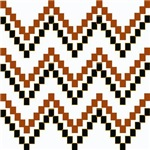 Simple Indian Blanket Chevrons