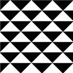 Sharp Black and White Triangles