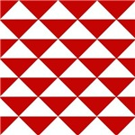 Red and White Triangles