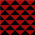 Black and Red Triangles