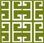 Avocado Green Spanish Tile