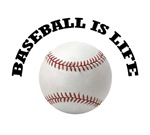 Baseball is Life T-shirts. Because you know baseba