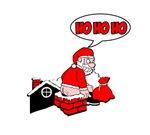 Christmas T-shirts. Santa poop. HO HO HO!