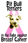 Breast Cancer. Pit Bull Terriers aginast Breast Ca