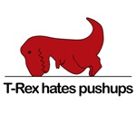 T-rex hates push ups
