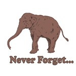 Never Forget Elephant Dinosaur