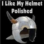 I Like My Helmet Polished