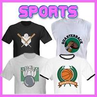 Sports Customized T-Shirts & Gifts