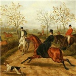 Riding Sidesaddle to the Hunt