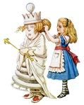 ALICE & THE WHITE QUEEN