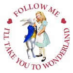 Follow Me - I'll Take You To Wonderland