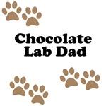 Chocolate Lab Dad