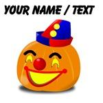 Custom Clown Jackolantern