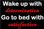 Determination Satisfaction