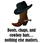 Boots Chaps Cowboy Hats