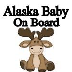 ALASKA BABY ON BOARD