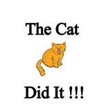 The Cat Did It!!