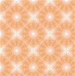 Sparkling Peach Star Pattern