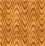 Orange and Pink Wavy Design