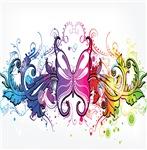 Pretty Flourish Butterfly