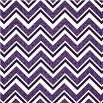 Purple Damask Patterned Chevron Stripes