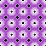 Purple Expanding Stars Pattern